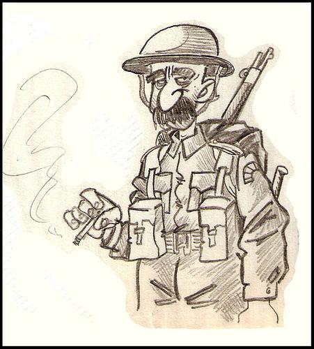 Soldado Britanico Wwii By PEPE GONZALEZ