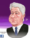 Cartoon: bill clinton (small) by abdullah tagged usa,president,clinton
