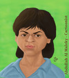 Cartoon: shahrukh khan (small) by abdullah tagged shahruhkhan,bollywood,india,hindi