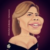 Cartoon: Sherine (small) by abdullah tagged egypt,song,singer,music