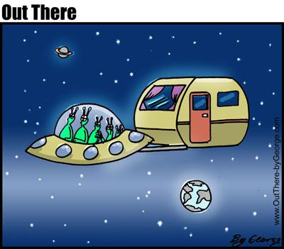 Cartoon: spacetravel (medium) by George tagged spacetravel