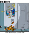 Cartoon: atms (small) by George tagged atms