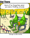 Cartoon: forgot (small) by George tagged forgot