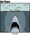 Cartoon: jaws today (small) by George tagged jaws,today