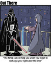 Cartoon: lightsaber (small) by George tagged lightsaber