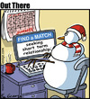 Cartoon: Match (small) by George tagged match