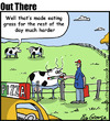 Cartoon: pizza feed (small) by George tagged pizza,feed