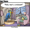 Cartoon: polly (small) by George tagged polly