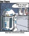 Cartoon: r2d2 (small) by George tagged r2d2