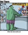 Cartoon: supplements (small) by George tagged supplements