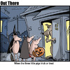 Cartoon: trick or treat (small) by George tagged trick,or,treat