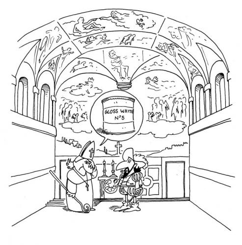 coloring pages of michelangelo   Michelangelo Sistine Chapel Coloring Pages Sketch Coloring ...