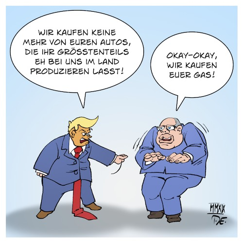 Cartoon: Trump vs. Altmaier (medium) by Timo Essner tagged donald,trump,peter,altmaier,autoindustrie,deutschland,strafzölle,usa,gas,natural,lng,wirtschaftskrieg,mauer,maga,cartoon,timo,essner,donald,trump,peter,altmaier,autoindustrie,deutschland,strafzölle,usa,gas,natural,lng,wirtschaftskrieg,mauer,maga,cartoon,timo,essner