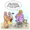 Cartoon: Alters-Vorsorge (small) by Timo Essner tagged altersvorsorge,rente,merkel,altersarmut