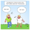 Cartoon: Facebook Fakenews Features (small) by Timo Essner tagged facebook fakenews features hatespeech cartoon untrue like timo essner