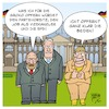 Cartoon: GroKo2018 (small) by Timo Essner tagged angela merkel cdu horst seehofer csu martin schulz spd andrea nahles parteivorstand groko koalitionsvertrag cartoon timo essner
