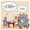 Cartoon: Obergrenze (small) by Timo Essner tagged obergrenzen,einwanderung,flüchtlinge,restaurant,kellner,wortspiel,cartoon,timo,essner