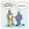 Cartoon: Sepp Blatter dankt ab (small) by Timo Essner tagged fifa blatter sepp korruption rücktritt usa deutschland schweiz uefa