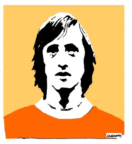 cruyff by carma famous people cartoon toonpool