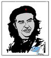 Cartoon: Alexis Tsipras (small) by Carma tagged alexis,tipras,che,guevara,greece,politics,guerrilla,revolution