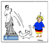 Cartoon: Bras d Honeur (small) by Carma tagged greek,elections,cartoons,greece,alexis,tsipras,angela,merkel,troika,eu,politics,government,syriza