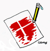 Cartoon: Copenaghen Attack (small) by Carma tagged denmark,copenaghen,ttack,terrorism,charlie,hebdo,cartoons