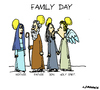Cartoon: Family Day (small) by Carma tagged society,family,italy