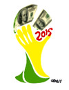 Cartoon: FIFA 2015 (small) by Carma tagged fifa,2015,corruption,blatter,world,cup