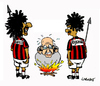 Cartoon: Racism in Football (small) by Carma tagged arrigo,sacchi,italian,football,sport,racism