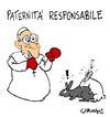 Cartoon: Responsible Paternity (small) by Carma tagged cartoon,pope,francis,vatican,paternity,religion,catholicism,animals,politics,society,family