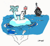 Cartoon: sOs (small) by Carma tagged titanic,polar,bear,sos