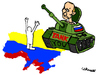 Cartoon: TANK you (small) by Carma tagged tanks,war,russia,ukraine,putin