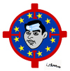 Cartoon: Target (small) by Carma tagged tsipras,greece,eu,merkel,politics