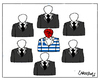 Cartoon: Without Tie (small) by Carma tagged greek,elections,alexis,tsipras,oath,governement,loialty,greece,politic,politicians,politics,syriza,society,democracy
