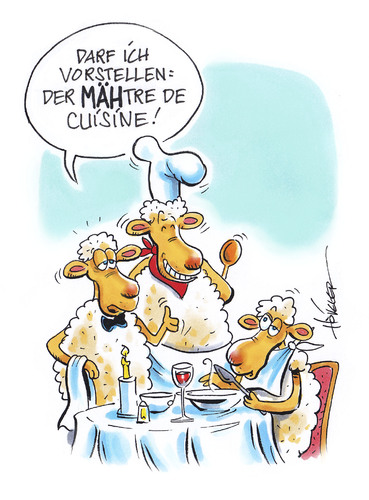 Französische küche comic  Maitre de Cuisine By Hoevelercomics | Media & Culture Cartoon | TOONPOOL