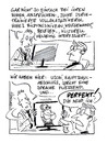 Cartoon: Dating Agentur (small) by Hoevelercomics tagged dating,singles,partnervermittlung,agentur,date
