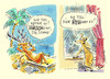 Cartoon: Hirsch und Reh (small) by Hoevelercomics tagged hirsch,reh,wald,wild,wildtiere,jäger,waidmann