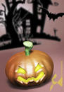 Cartoon: Halloween Pumpkin (small) by Rüsselhase tagged pumpkin,kürbis,halloween