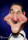 Cartoon: H.C.Strache (small) by Rüsselhase tagged austria,politics,strache