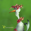 Cartoon: Summer Bird (small) by Rüsselhase tagged bird,summer,flower,sweet