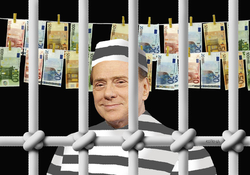 Cartoon: berlusconi4 (medium) by kotrha tagged berlusconi,silvio