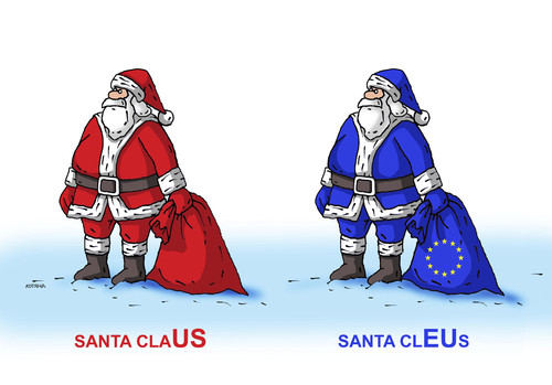 Santa cleus by kotrha religion cartoon toonpool