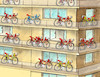 Cartoon: bicykle-hn (small) by Lubomir Kotrha tagged tour,de,france,sagan,peter