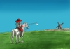 Cartoon: dongolf (small) by kotrha tagged humor