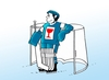Cartoon: fragile (small) by kotrha tagged ice,hockey