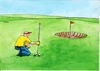 Cartoon: golfmieric (small) by kotrha tagged humor