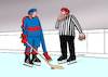 Cartoon: hokdlhoruk (small) by kotrha tagged ice,hockey,winter,championships,canada