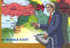 Cartoon: john kerry (small) by kotrha tagged usa,john,kerry,middle,east,war,peace,syria