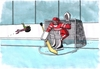Cartoon: martanko (small) by kotrha tagged ice hockey