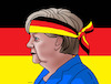 Cartoon: merkelbol (small) by Lubomir Kotrha tagged germany,angela,merkel,new,elections,europa,euro,dollar